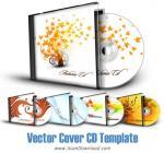 مجموعه ای زیبا از فایلهای وکتور با موضوع کاور و قاب سی دی