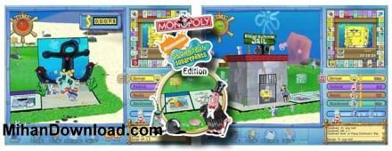 بازی کامپیوتر باب اسفنجی Monopoly Sponge BobS quare PantsEd