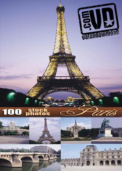 مجموعه تصاویر با کیفیت از شهر پاریس و برج ایفل - واضح