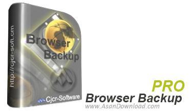 تهیه نسخه ی پشتیبان از اطلاعات مرورگرها با Browser Backup Pro v6.2.0.0