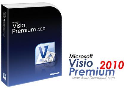 طراحی چارت های گرافیکی با نرم افزار Microsoft Visio 2010 Premium  RTM