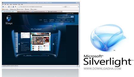 پلاگین قوی و کاربردی مایکروسافت Microsoft Silverlight 4.0.60129.0