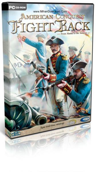 دانلود رایگان بازی فتح آمریکا American Conquest