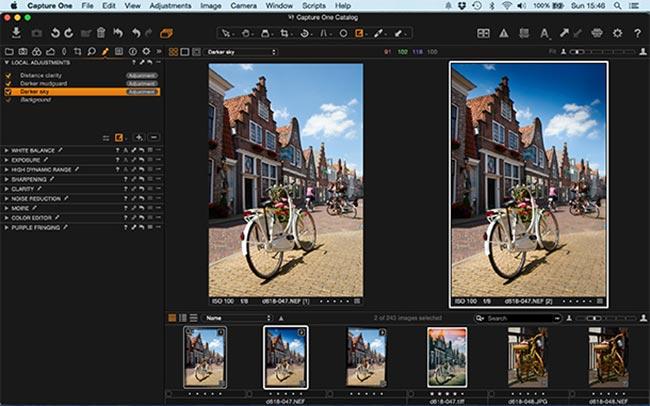 دانلود نرم افزار ویرایشگر حرفه ای تصاویر Capture One Pro v12 0 2