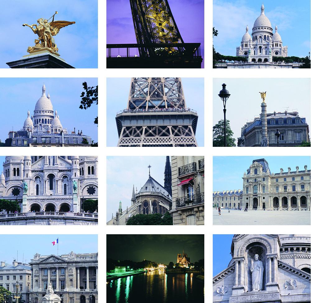 دانلود مجموعه تصاویر با کیفیت از شهر پاریس و برج ایفل
