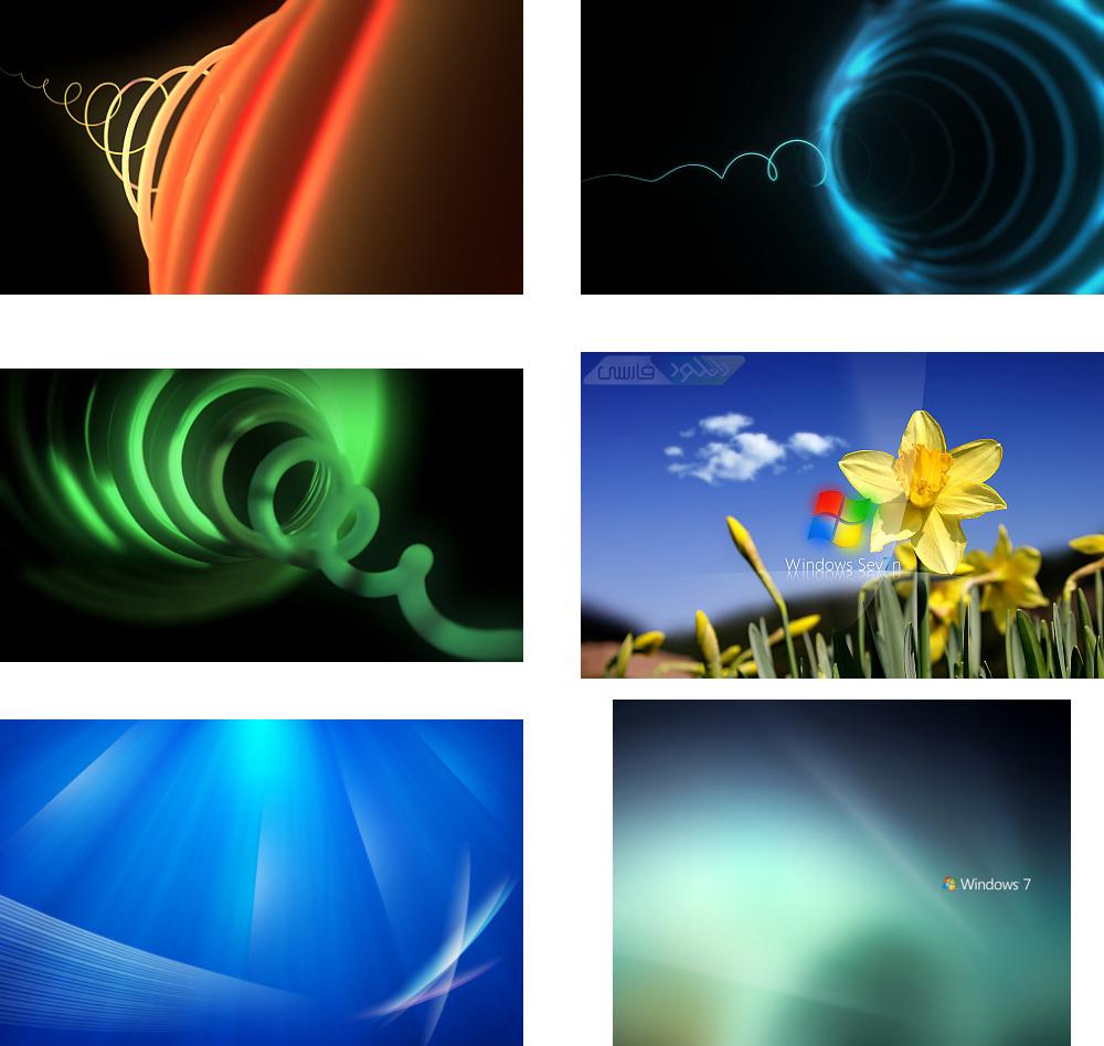 دانلود مجموعه Windows 7 Wallpaper Pack تصاویر پس زمینه ویندوز