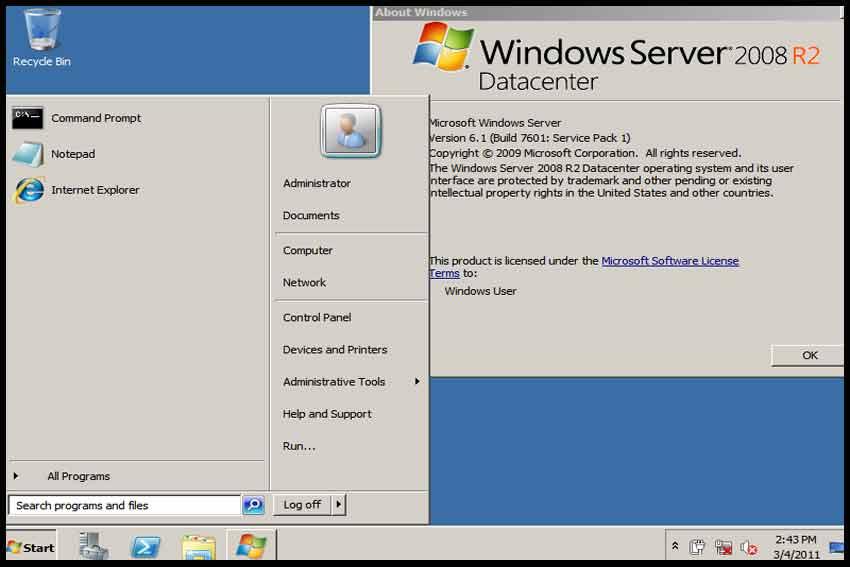 Windows Server 2008 Активатор