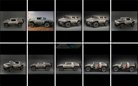 دانلود مجموعه والپیپر Hummer HX Concept