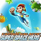 لوگوی بازی Captain Galactic : Super Space Hero