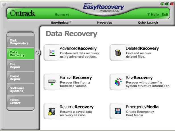 دانلود نرم افزار EasyRecovery Professional بازیابی اطلاعات