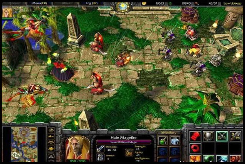 Внимание: игра работает только с установленным WarCraft III: Reign of Chaos).