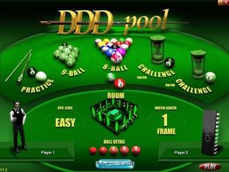 دانلود بازی زیبای 1.2 DDD Pool بیلیارد 3 بعدی همراه با سریال نامبر