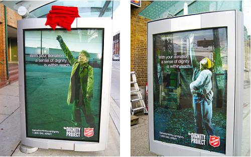 دانلود مجموعه ایده های جالب برای تبلیغات شهری و محیطی
