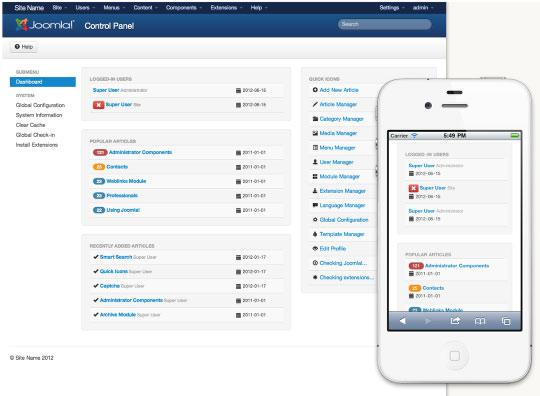 دانلود اخرین نسخه نرم افزار جوملا! سیستم قدرتمند مدیریت محتوای سایت