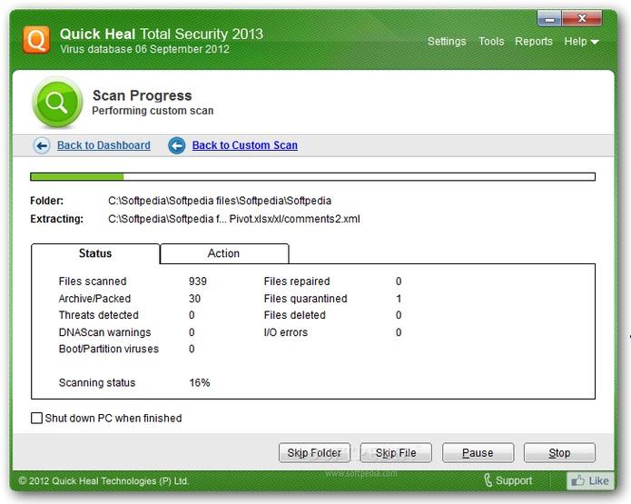 دانلود نرم افزار Quick Heal Total Security آنتی ویروس