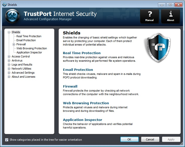 دانلود نرم افزار TrustPort Internet Security اینترنت سکوریتی