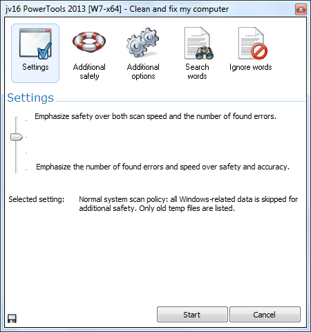 دانلود نرم افزار jv16 PowerTools بهینه ساز ویندوز