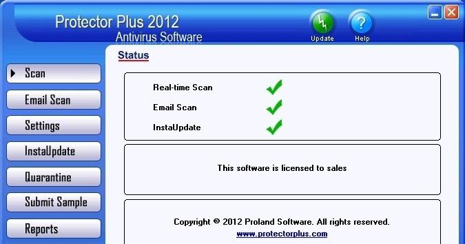 دانلود نرم افزار Protector Plus آنتی ویروس