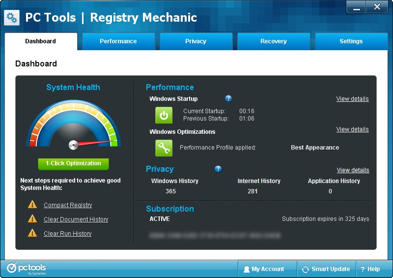 دانلود نرم افزار Registry Mechanic تعمیر رجیستری