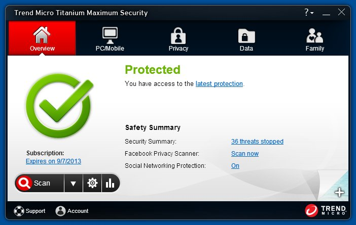 دانلود نرم افزار Trend Micro Titanium Maximum Security 2014