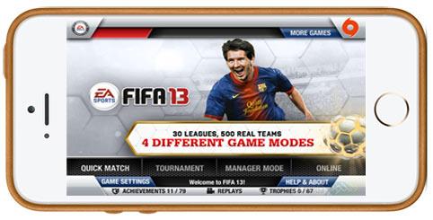 دانلود بازی FIFA 13 فیفا 13 برای iOS