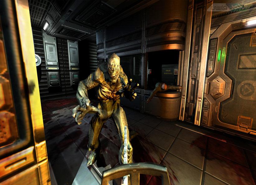 بازی ترسناک doom