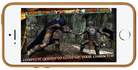 دانلود بازی Infinite Warrior برای آیفون و آیپد