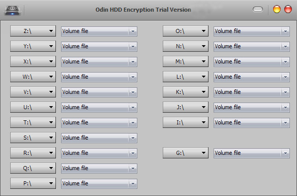 دانلود نرم افزار Odin HDD Encryption