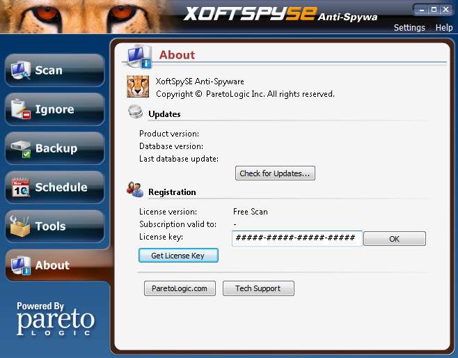 دانلود نرم افزار XoftSpySE Anti-Spyware