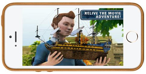 دانلود بازی The Adventure of Tintin برای آیفون , آیپد