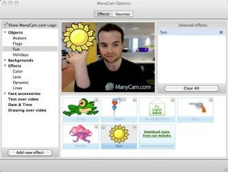 دانلود نرم افزار ManyCam افکت گذاری برای وبکم ها