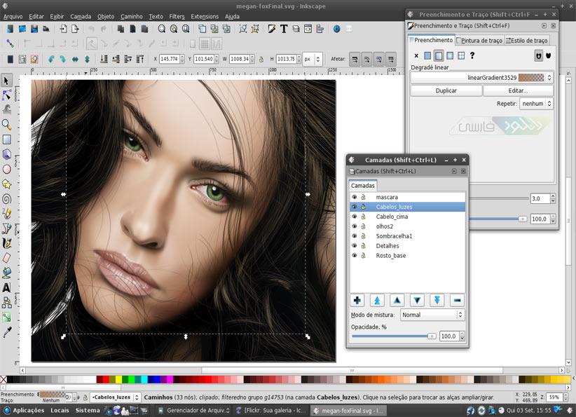 دانلود نرم افزار طراحی و ساخت وکتور گرافیکی Inkscape
