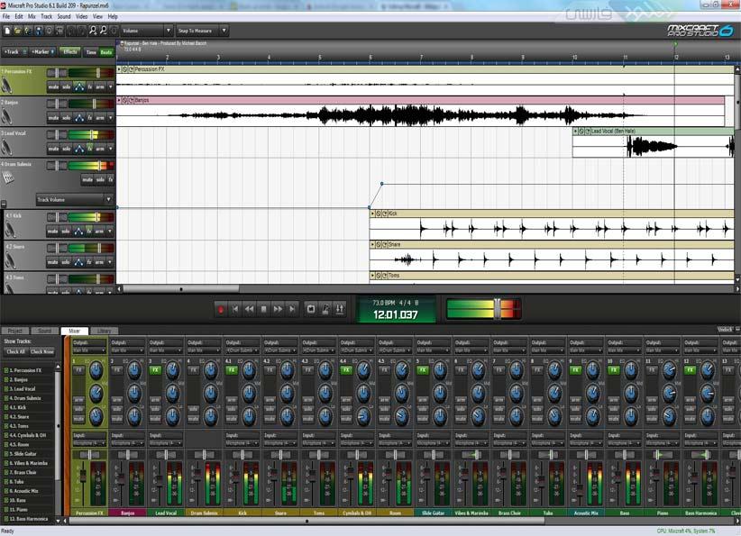 دانلود نرم افزار Mixcraft میکسر موزیک