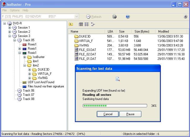 دانلود نرم افزار IsoBuster ایمیج گرفتن و قفل شکن دیسک های خش دار