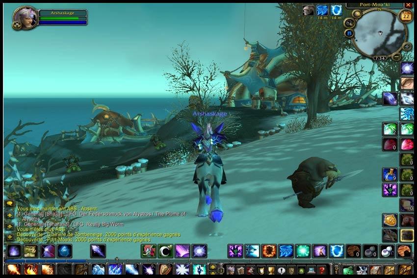 Последнее крупное обновление для World of Warcraft: The Burning Crusade - &
