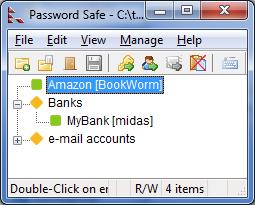 دانلود نرم افزار Password Safe مدیریت پسوردها