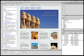 Creating a First Web Site with Dreamweaver CS6