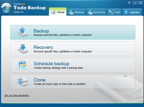 دانلود نرم افزار EASEUS Todo Backup Home تهیه نسخه پشتیبان