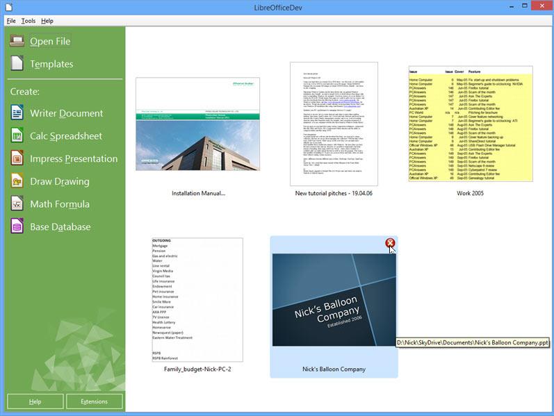 دانلود نرم افزار آفیس حرفه ای LibreOffice