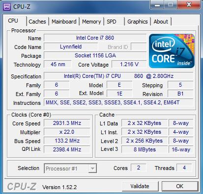 دانلود نرم افزار CPU-Z نمایش مشخصات سخت افزار