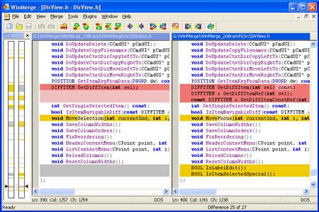 دانلود نرم افزار مدیریت و مقایسه فایل ها WinMerge