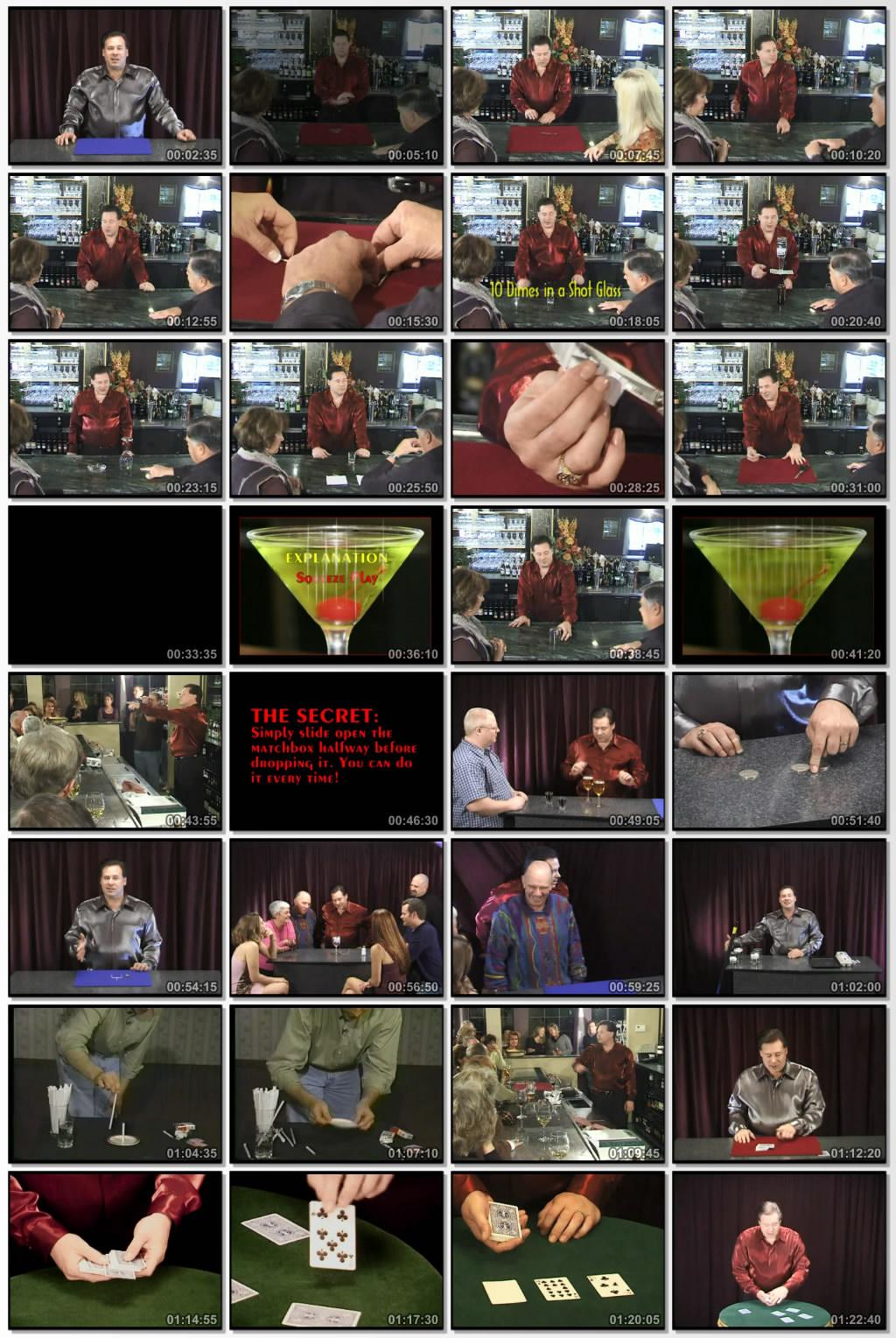 دانلود فیلم مستند Incredible Magic at The Bar شعبده بازی