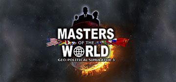 Masters of the World Geopolitical Simulator 3 - Screen
