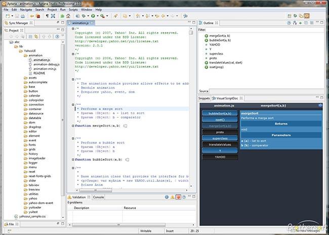 دانلود نرم افزار Aptana Studio طراحی وب