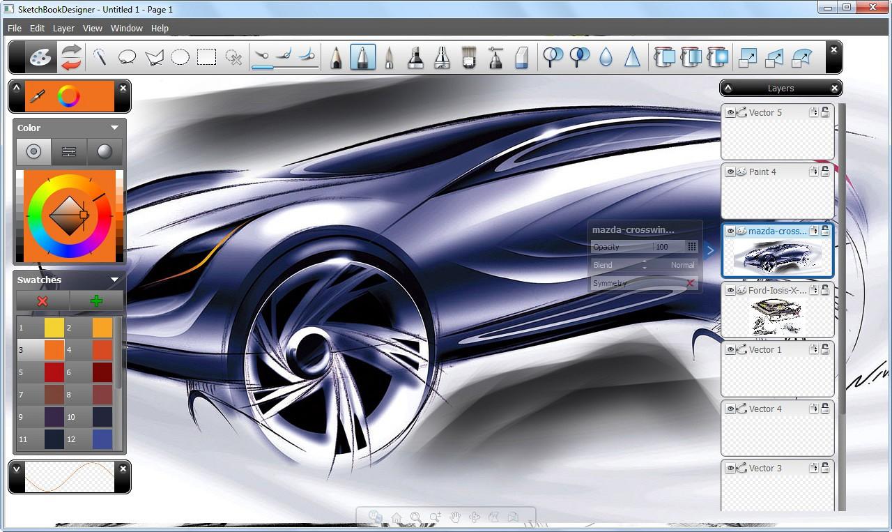 Autodesk SketchBook Pro 5