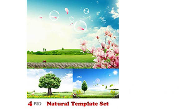 Natural Template Set 9