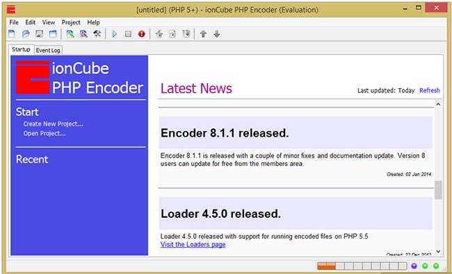 دانلود نرم افزار ionCube PHP Encoder قفل گذاری بر روی صفحات پی اچ پی