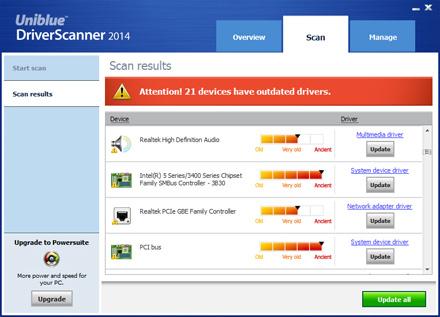 دانلود نرم افزار DriverScanner بروزرسانی درایورهای ویندوز