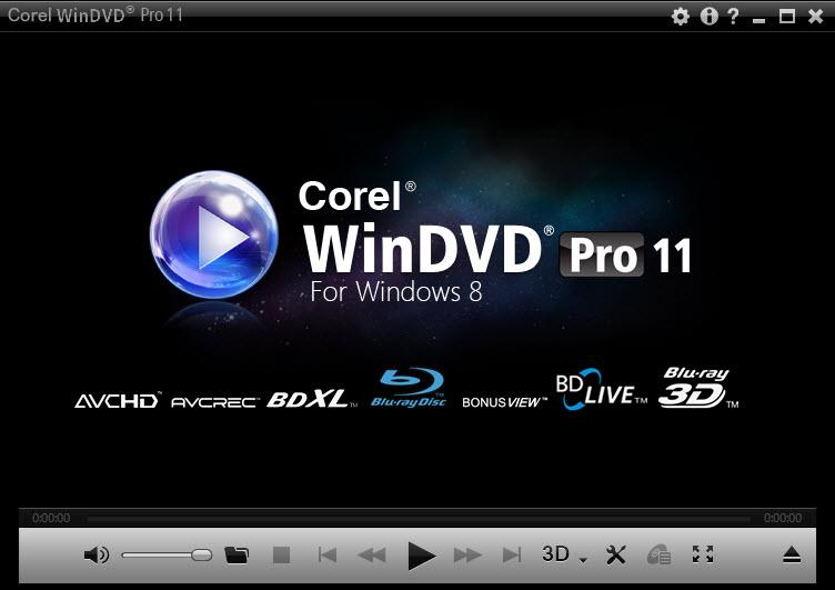 دانلود نرم افزار قدرتمند پخش ویدئو Corel WinDVD سیستم عامل ویندوز