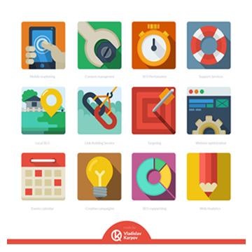 دانلود تصاویر لایه باز Flat Icon PSD Win 8 آیکون های تخت ویندوز هشت